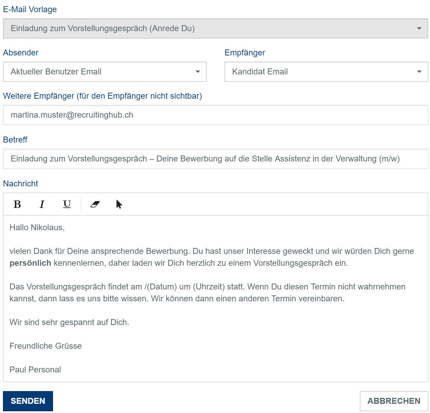 ATS-E-Mail-Vorlage
