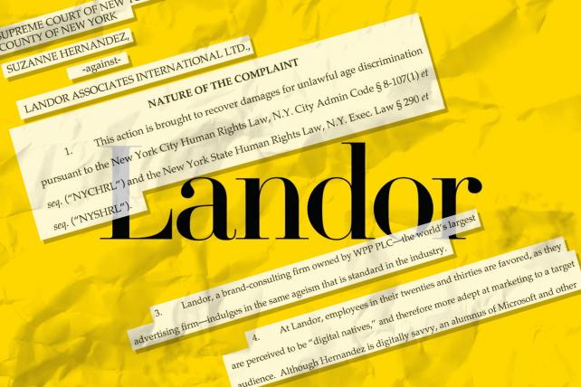 Former Landor Employee Files Age Discrimination Suit against Agency