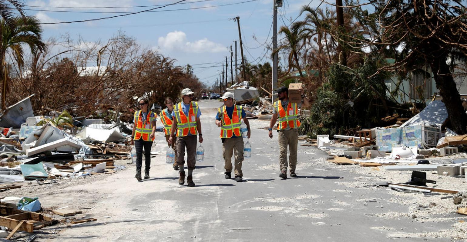 Disaster Relief Workers Are Cheated Out of Overtime Pay