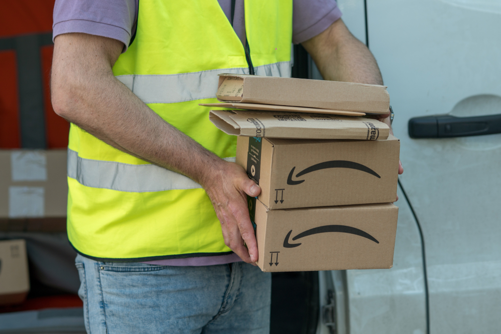 Delivery Drivers Sue Amazon Shipping Company for Wage Theft