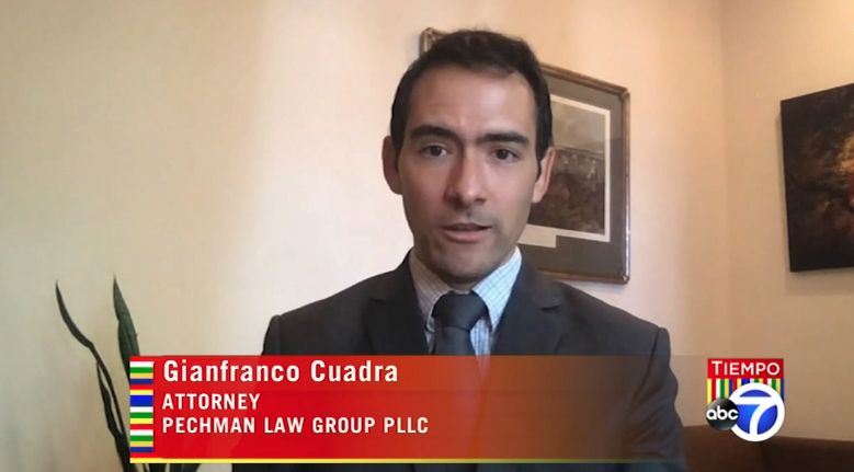 Gianfranco Cuadra Discusses the Rights of Latino Workers during COVID-19 Pandemic on ABC's Tiempo