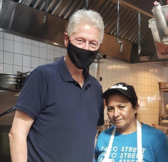 Popular Chappaqua Eateries Frequented by Bill Clinton Sued for Wage Theft