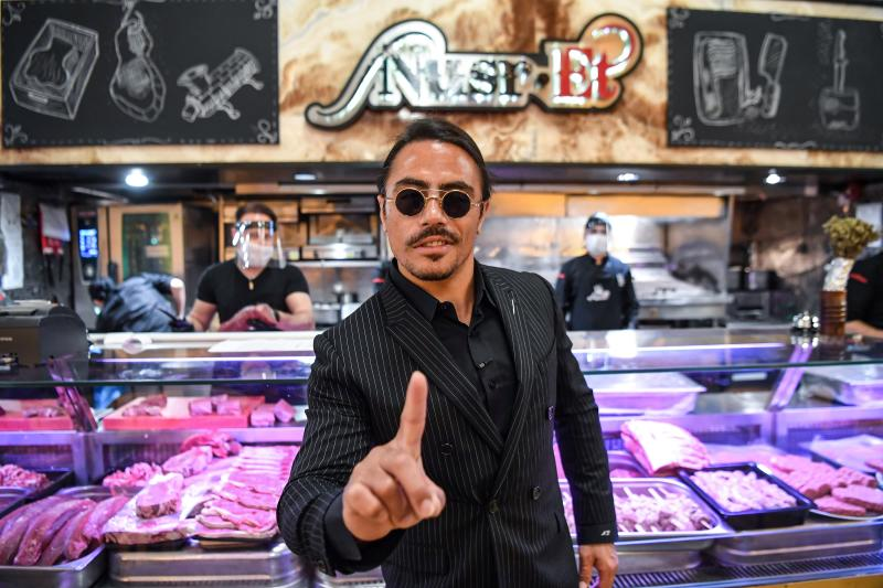 """""""Salt Bae"""" Sued for Unpaid Overtime Pay"""