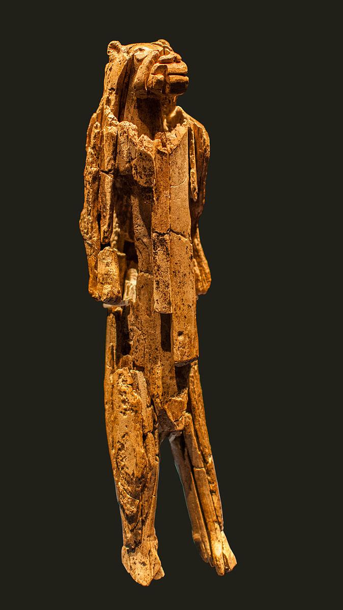 Der Löwenmensch vom Hohlenstein-Stadel ist eine 35'000 bis 41'000 Jahre alte Skulptur. Sie gehört zu den ältesten Kleinkunstwerken und zeugt von die Imaginationskraft des Menschen.