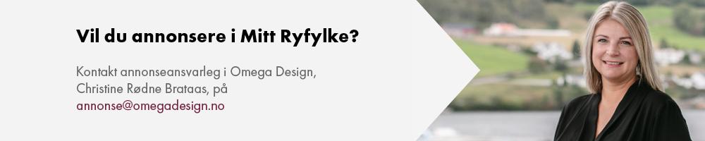 Annonse for annonsering i Mitt Ryfylke