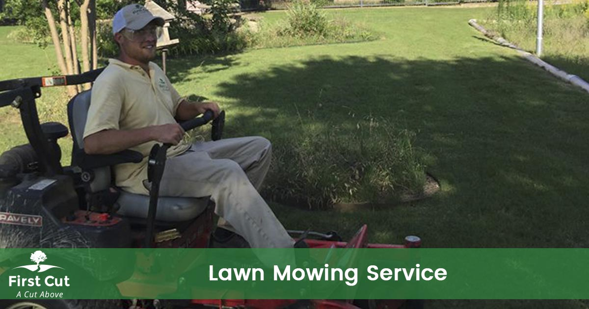 Lawn Mowing Service | First Cut Lawn Services