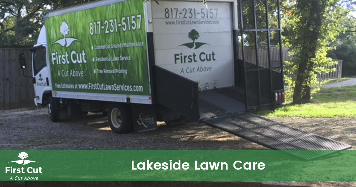 Lawn Care Service in Lakeside Texas