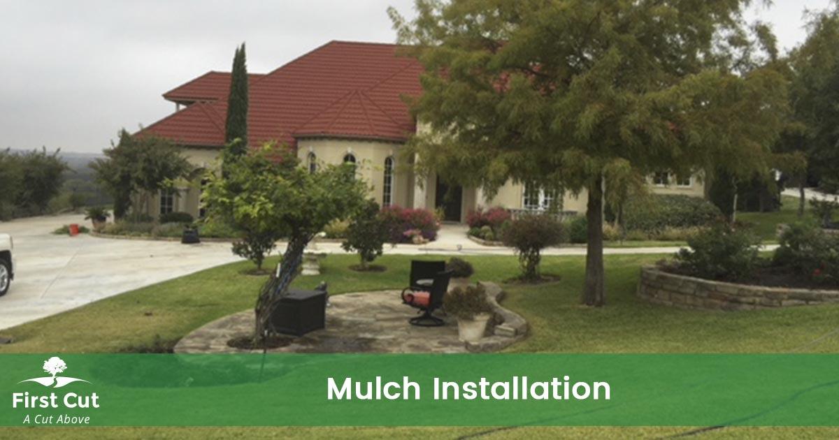 Mulch Installation