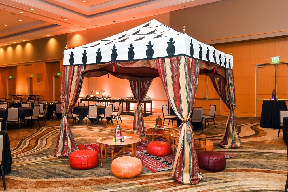 Tent Oriental Decoration