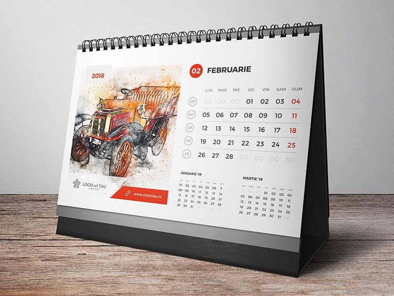 calendare personalizate 2018 - promo