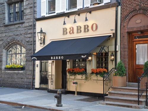 Busser Sues Mario Batali's Restaurant for Minimum Wage and Overtime Pay Violations
