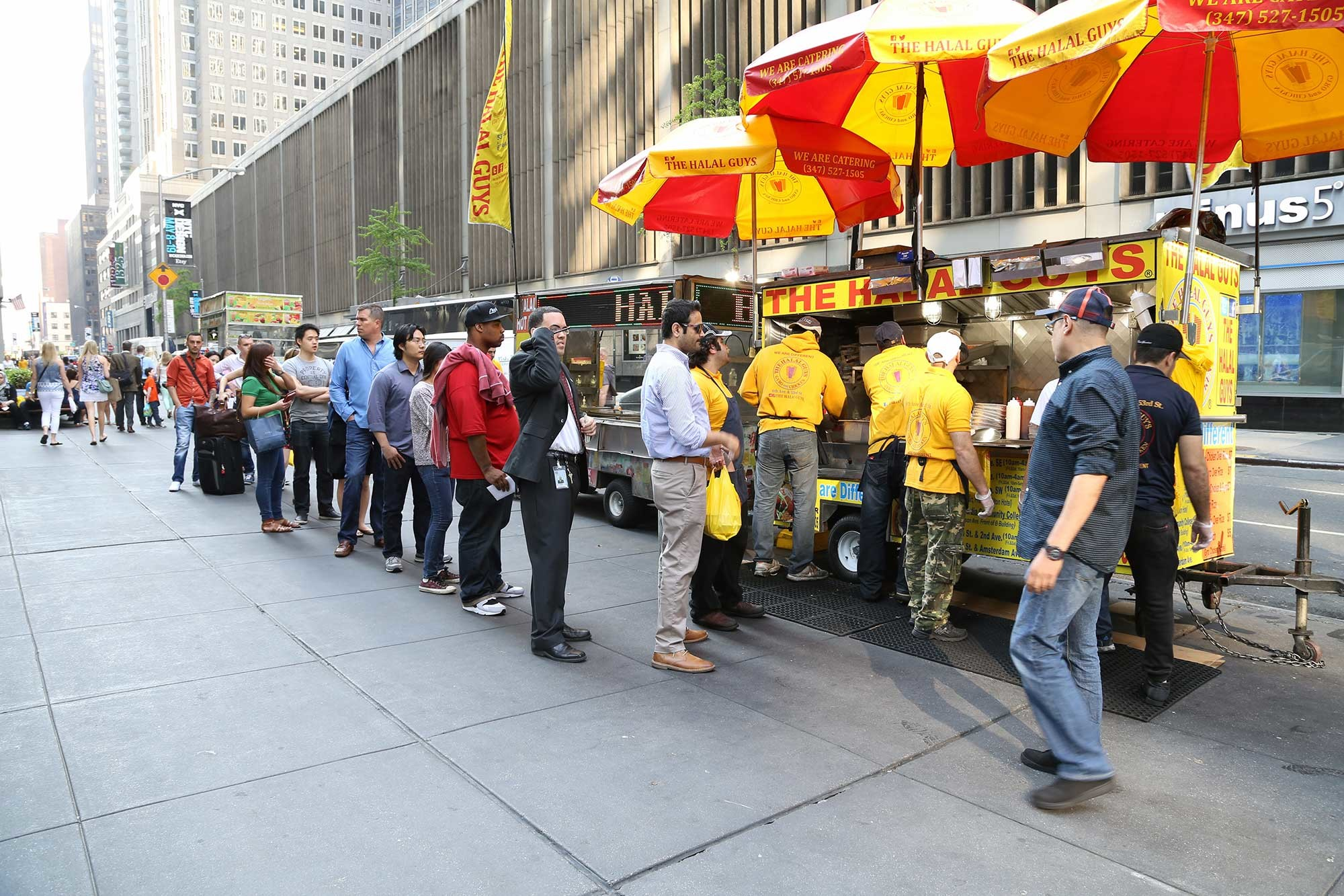"""The Halal Guys"" Sued for Overtime Violations"
