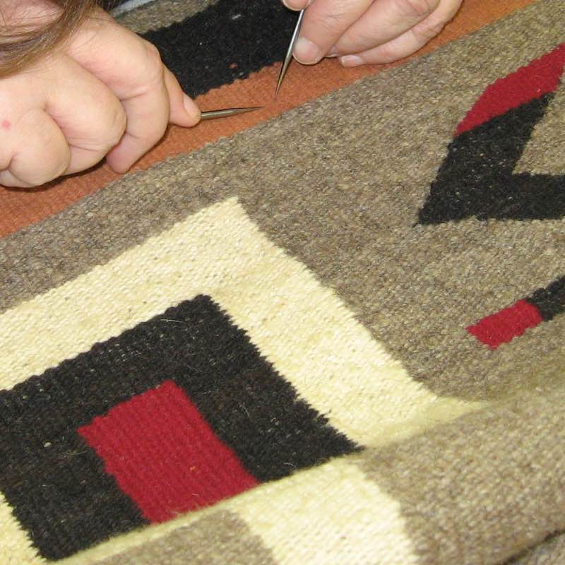 Your rug will undergo a thorough inspection