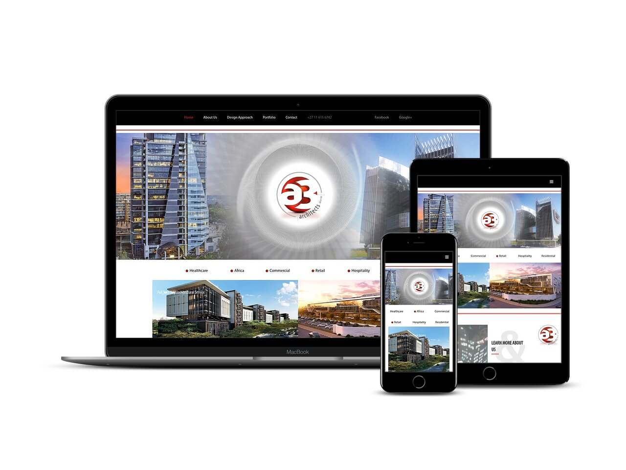 Custom Web Development Projects - A3 Architects
