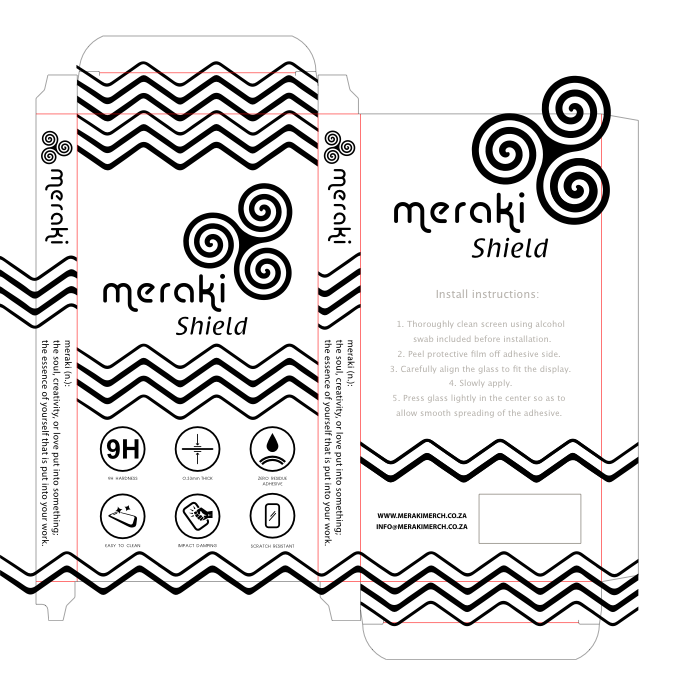 Meraki Packaging Design