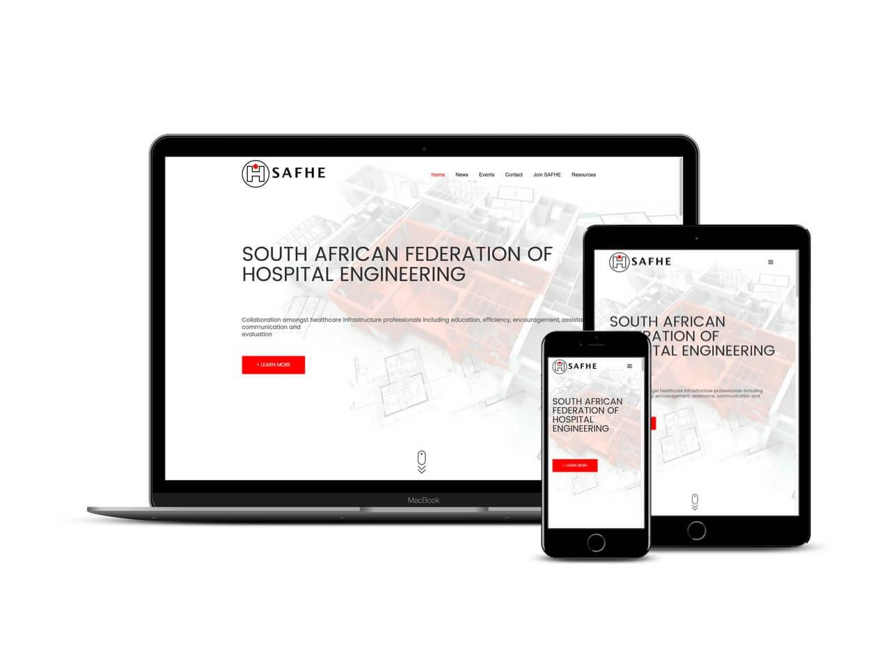 Custom Web Development Projects - SAFHE