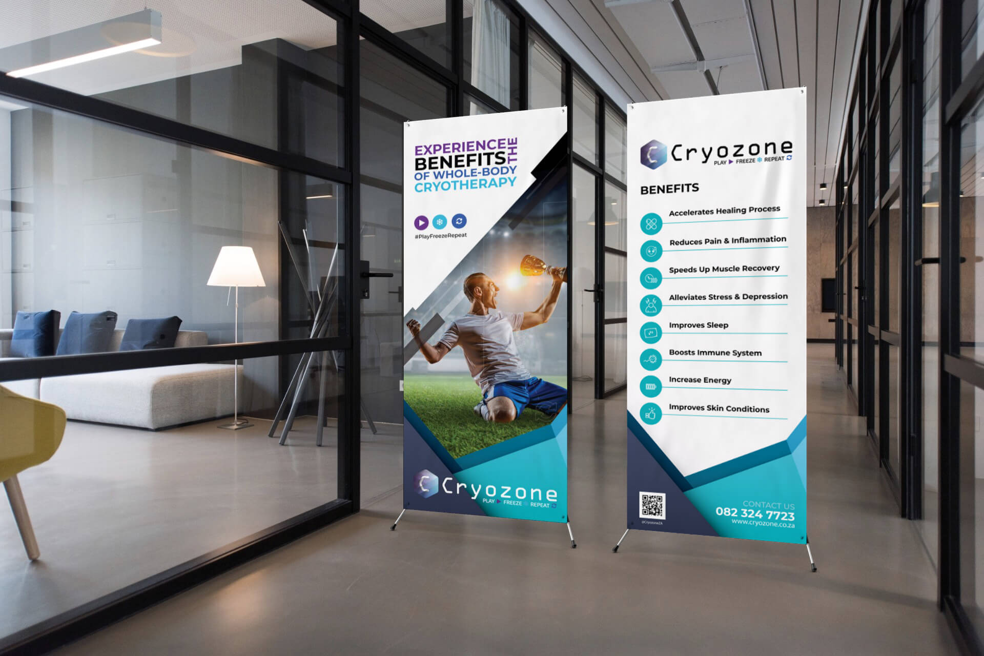 Cryozone Banners