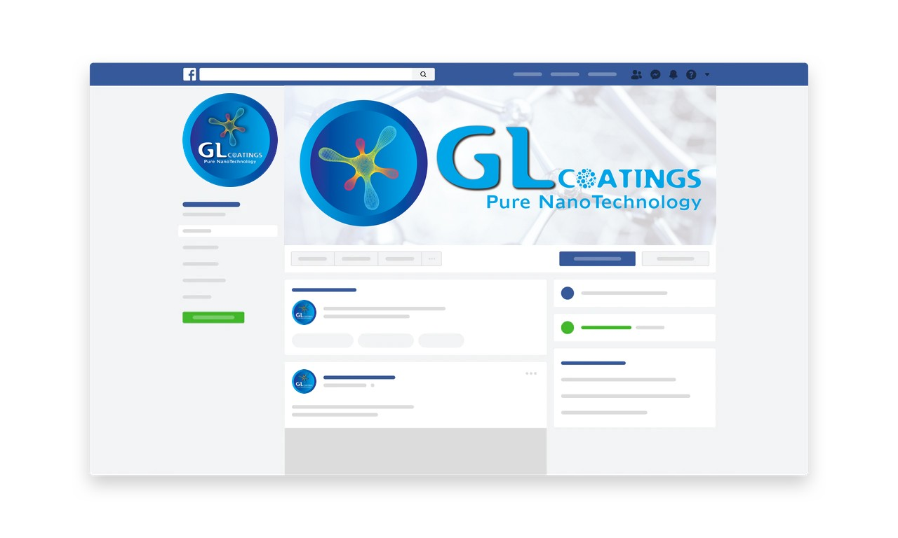 GL Coatings Social Media Design