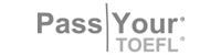 Logo cliente Pass your toefl