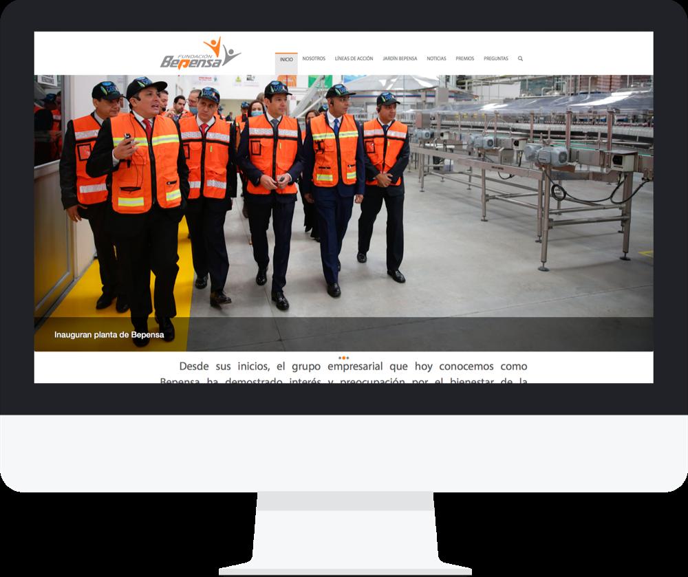 Sitio web de bepensa