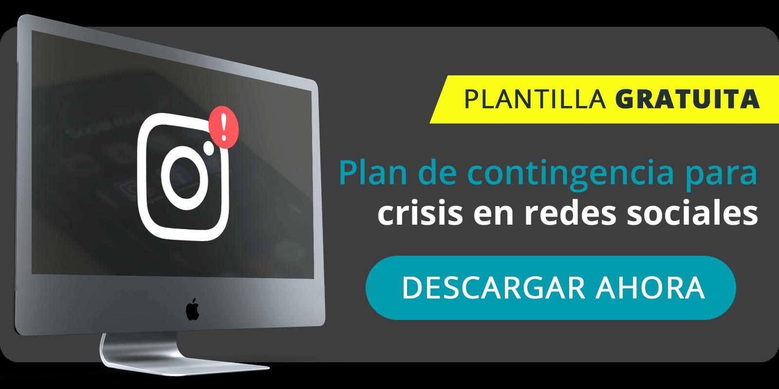 plan de contingencia de crisis en redes sociales