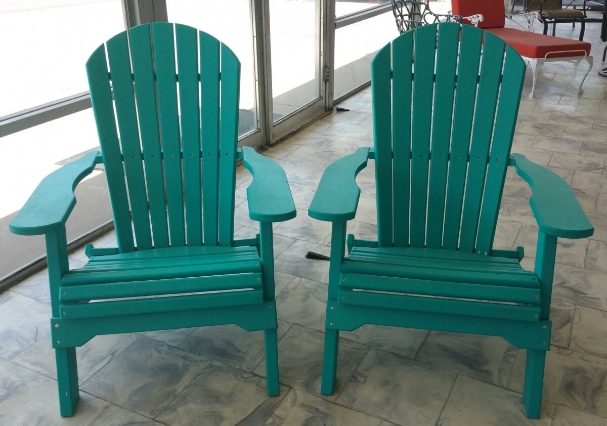 Adirondack Chairs Powder Coated
