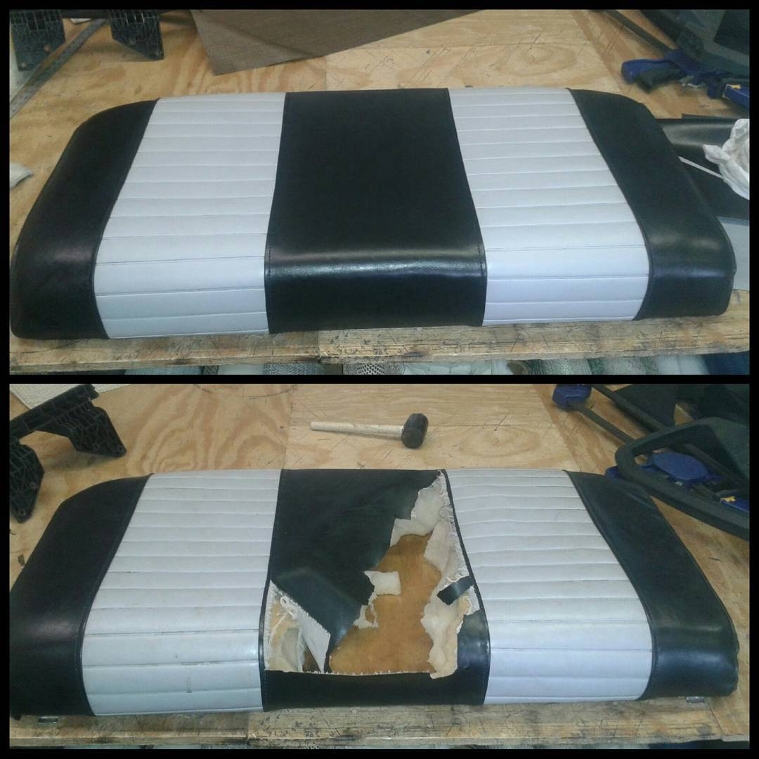 Upholstery-car seat