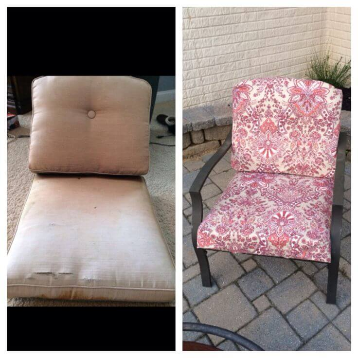 Chair Fabric Makeover Atlantic Powder Coating