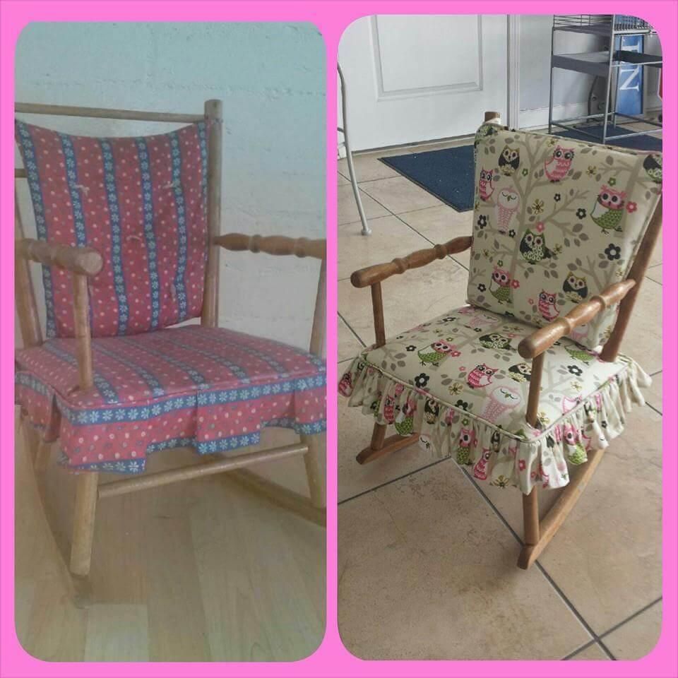 Rocking Chair Redo Upholstery