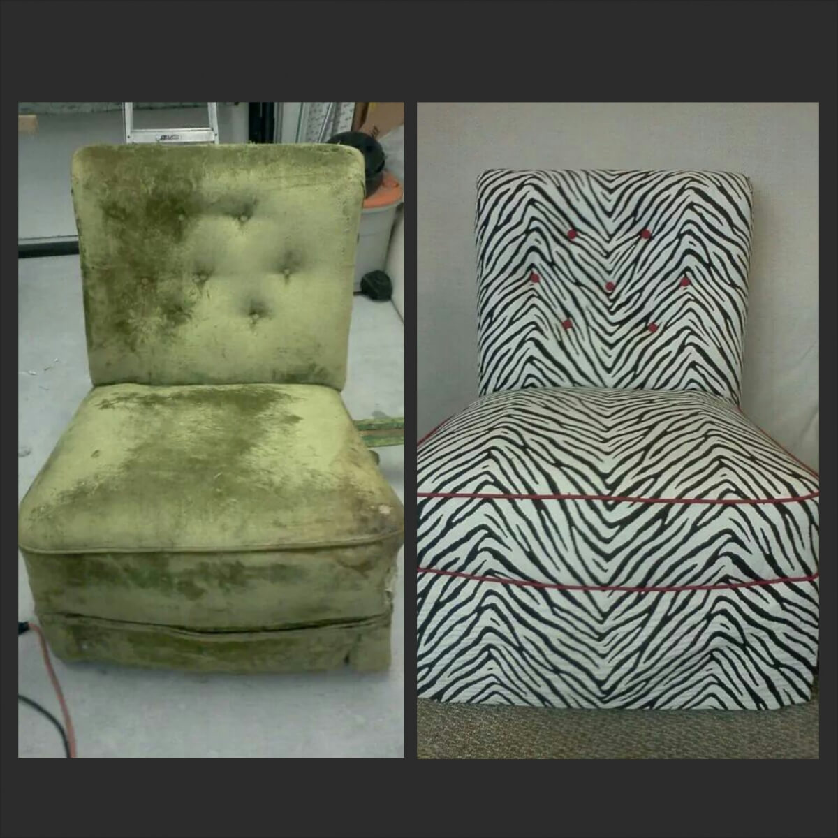 Chair re-fabic Upholstery