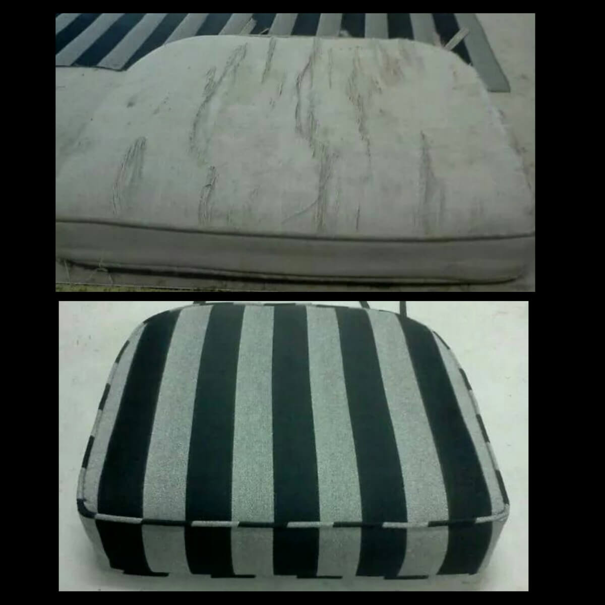 Cushion Re-fabric