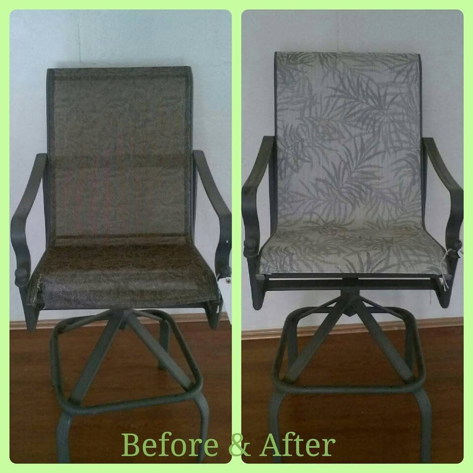 Reslung chair makeover
