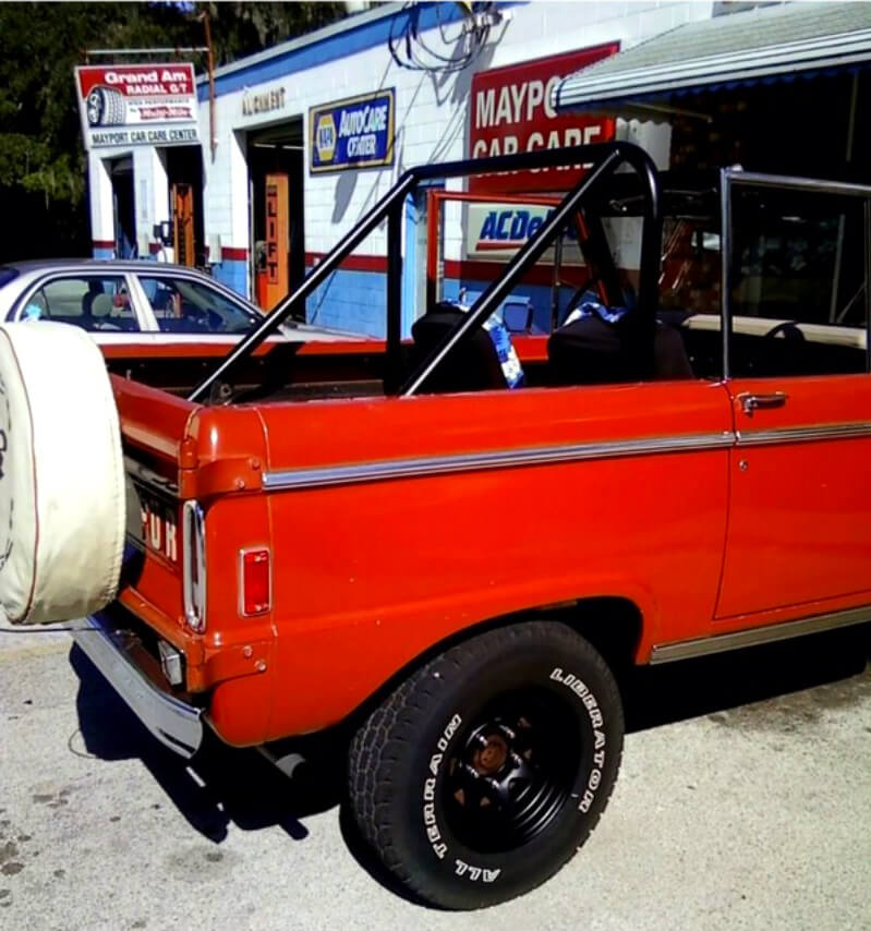 Bronco Powder Coated
