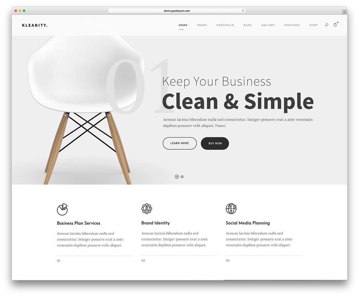 Menos es más es una de las grandes apuestas para las tendencias de diseño web este 2019