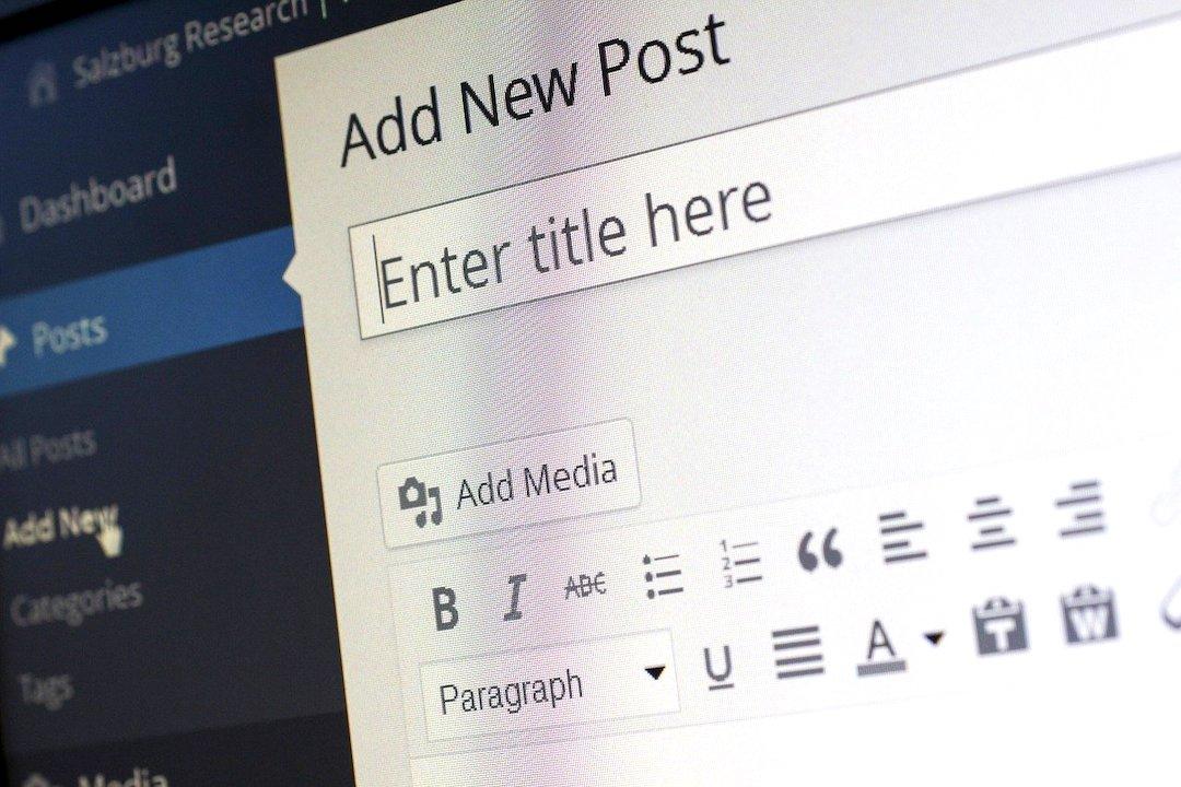 Nuevo post de WordPress.