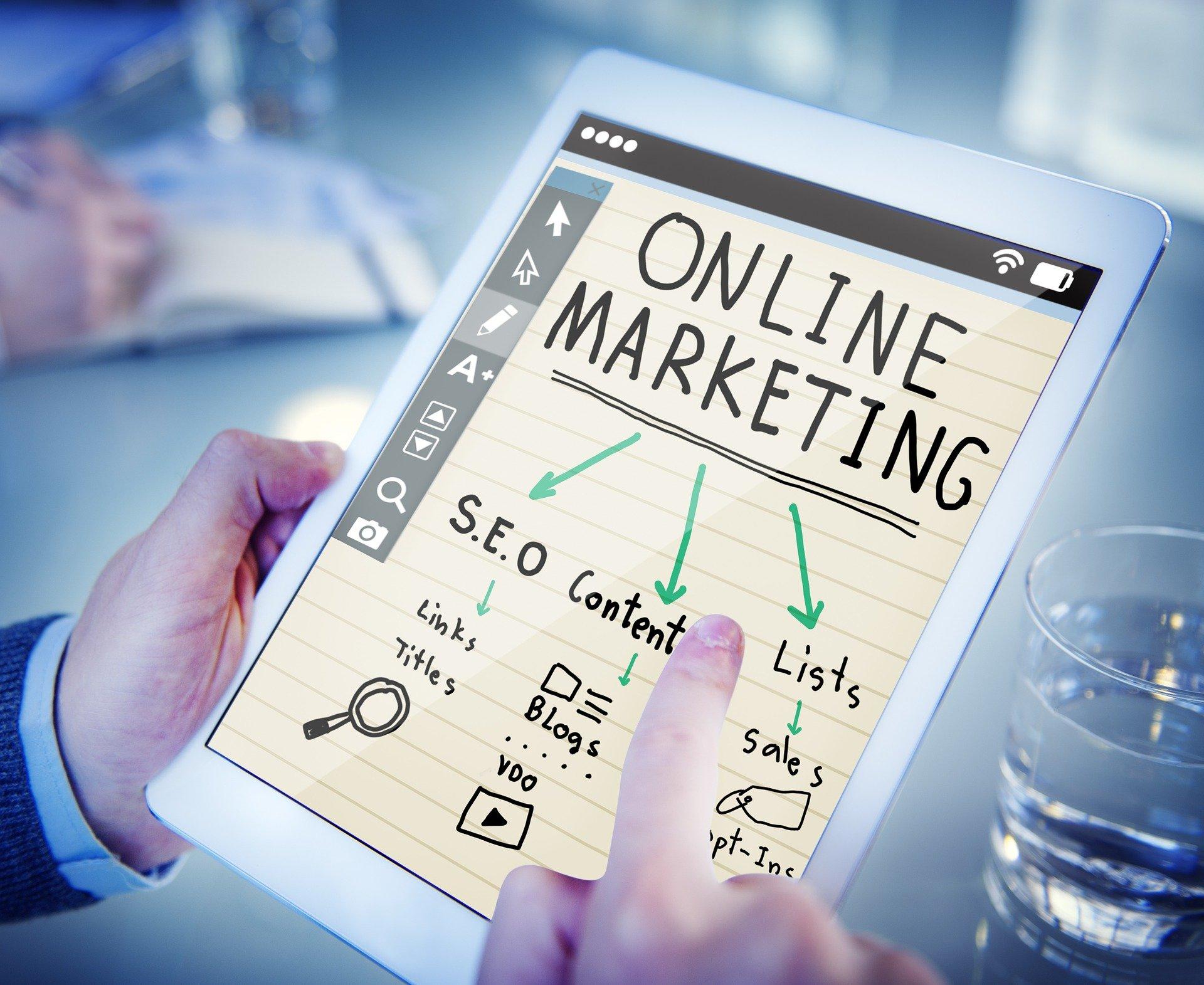 El online marketing cuenta con distintas herramientas y técnicas