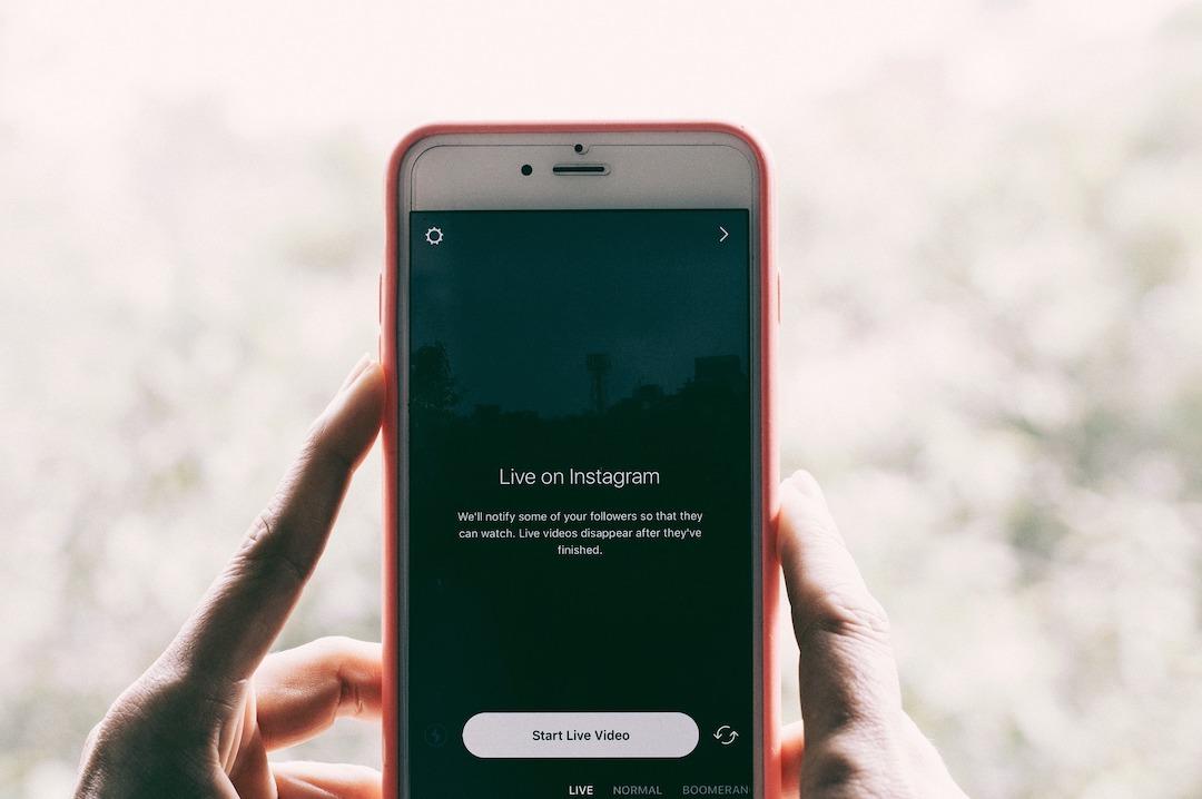 live en instagram