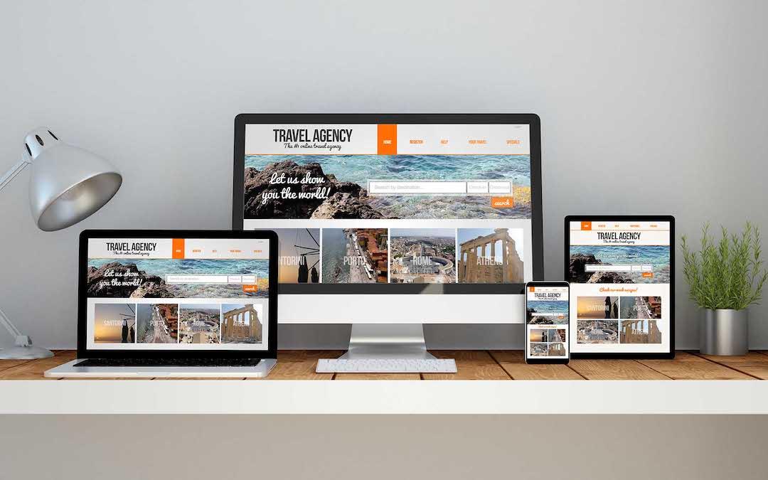 diseño web en distintos formatos