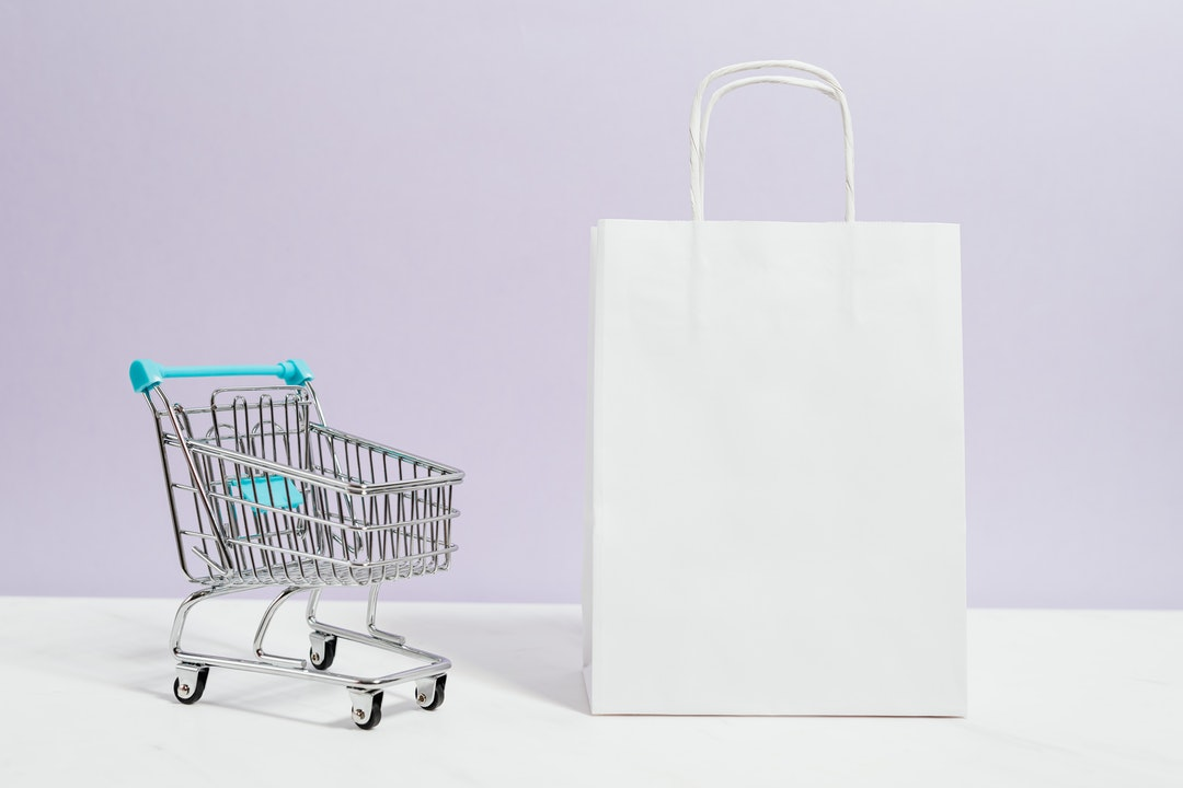 Carrito de compras.