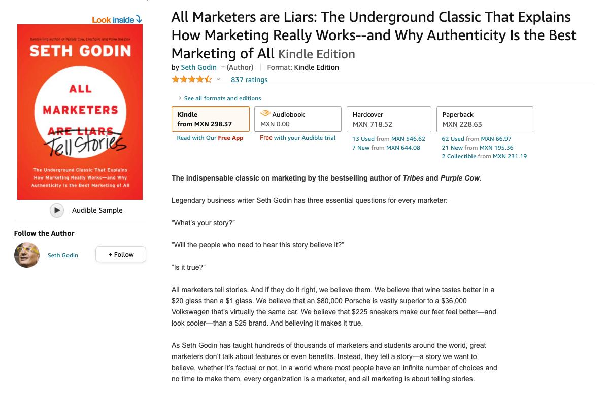 Libro: ¿Todos los comerciales son mentirosos?