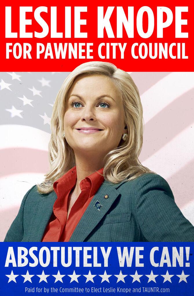 Campaña de propaganda de Leslie Knope de la serie Parks and Recreation