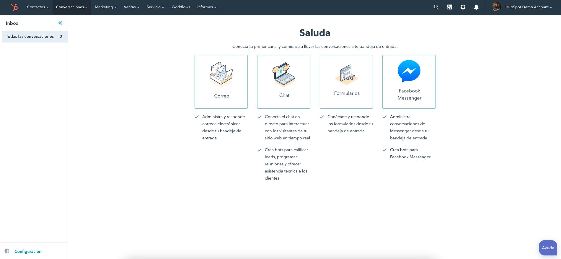 Captura de HubSpot Service Hub