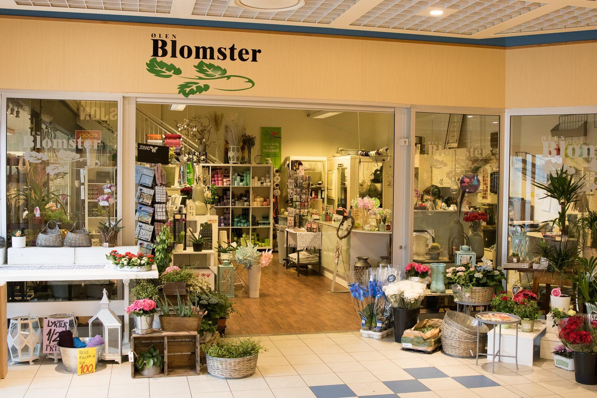 Bilete av Ølen Blomster butikk