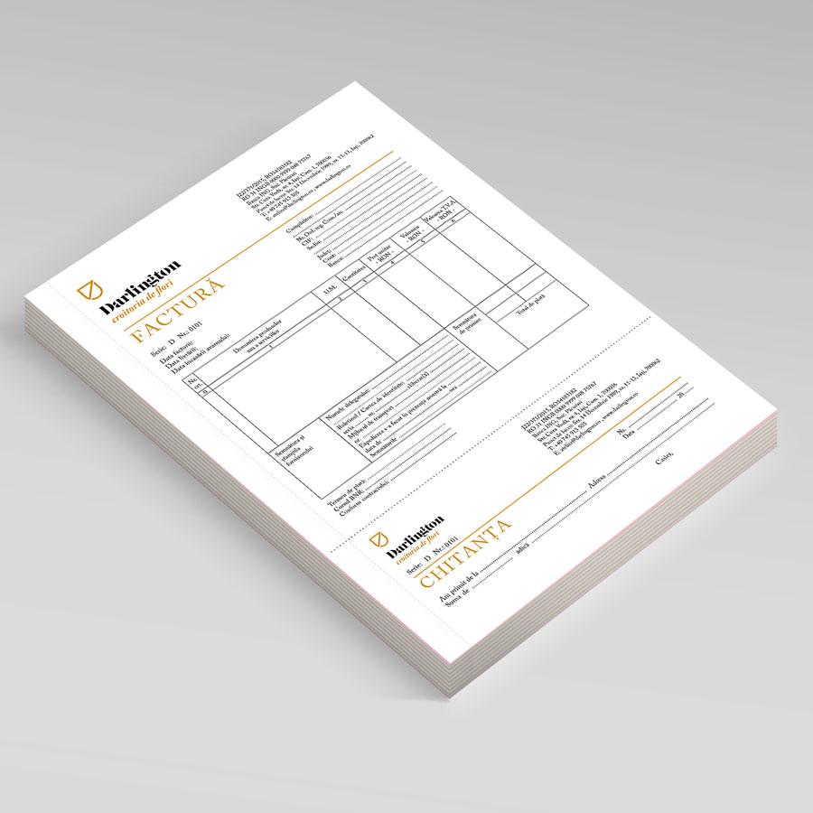 Facturiere personalizate A4, A5, A6
