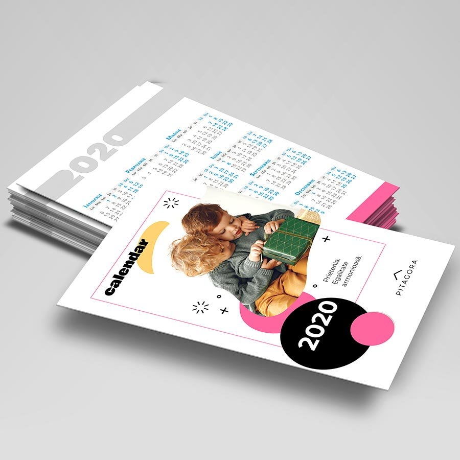 Calendare de buzunar 2020