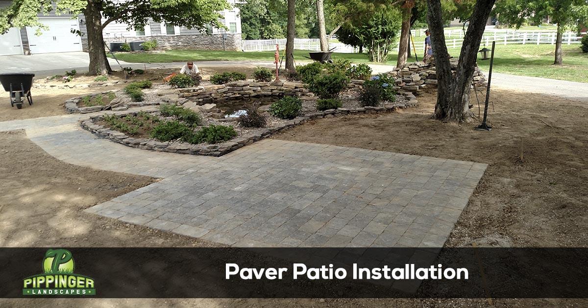 Patio Installation Services