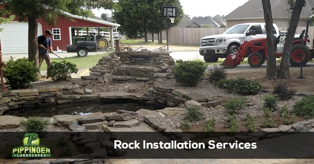 Rock Installation Services
