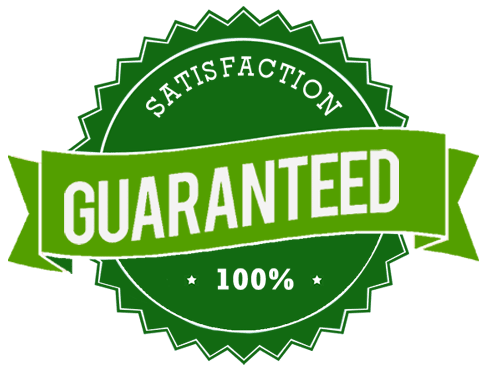 100% Satisfaction Guarantee on our lawn care services
