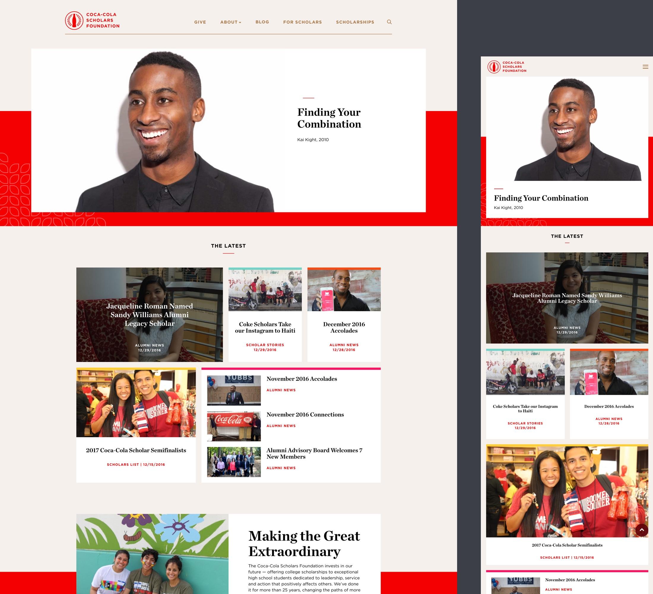 CCSF - Brand & Web