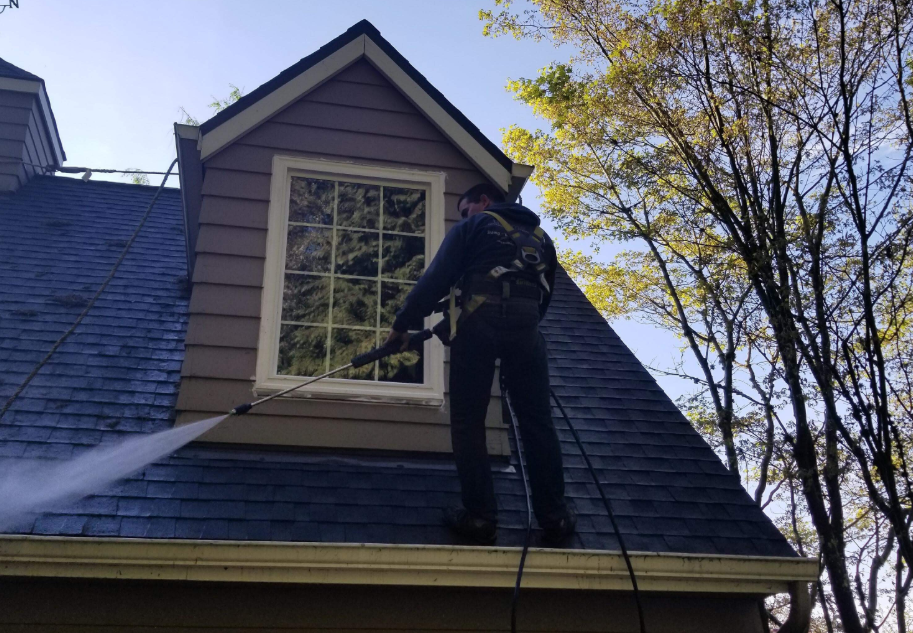 Quality Roof Inc | Roof Cleaning